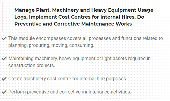 Benefits of Automating the Labour, Machinery and Plant Management Process