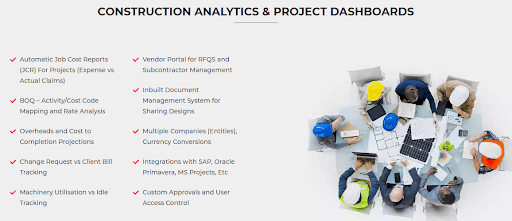 Construction Analytics & Project Dashboards