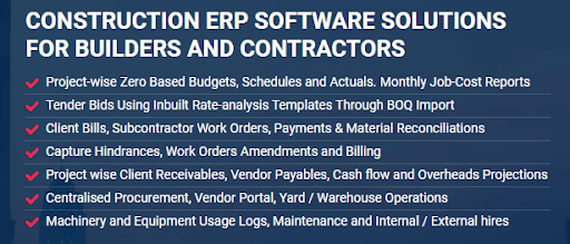 Construction Management Software for Builders and Contractors